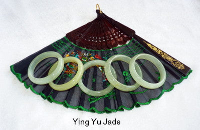 Special Purchase-Glowing Translucent Traditional Classic Chinese Jade Bangle Bracelet 60 mm (YYJ-SPF-60)