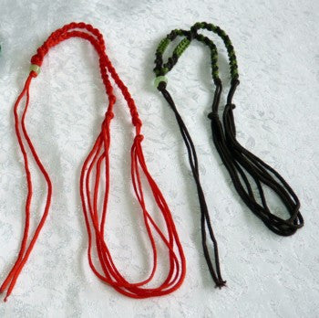 """Dragon Whiskers"" Adjustable Silk Cord for Pendants"