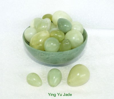 "Wholesale Jade ""Yoni"" 3 Eggs Sets  for Women Kegel Exercise  -Set of 10"