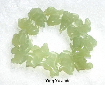 Chinese Jade Set of 12 Zodiac Animals Pendants (ZODIAC)
