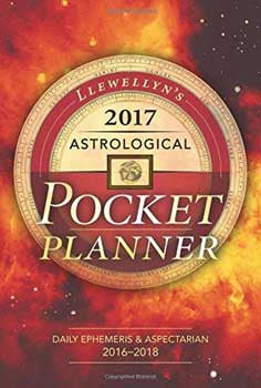 2017 Astrological Pocket Planner by Llewellyn