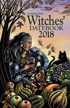 2018 Witches Datebook by Llewellyn