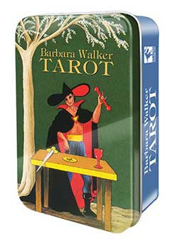 Barbara Walker Tarot tin by Barbara Walker