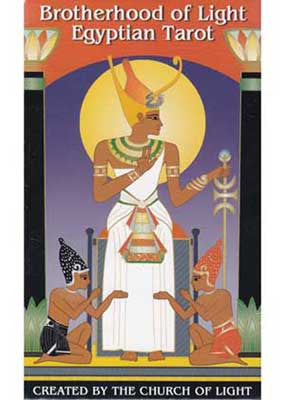 Brotherhood of Light Egyptian tarot deck by Church of Light