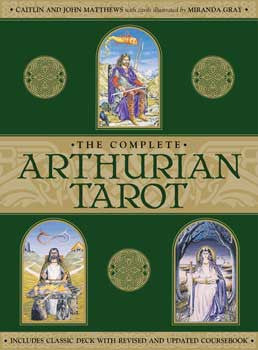 Complete Arthurian tarot deck by Mathews & Mathews