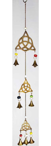 Triple Triquetra wind chime