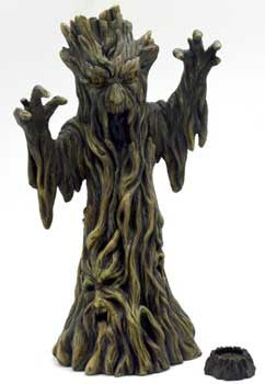 "11"" Scary Tree incense holder"