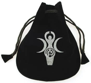 Goddess of Earth Velveteen Bag