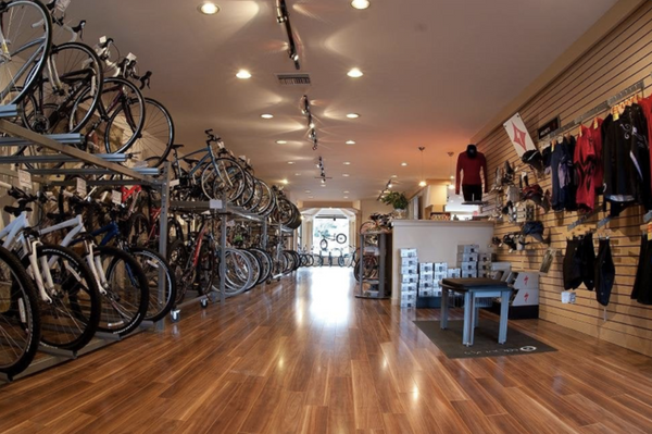 Shopping for bikes can be intimidating for people who aren't avid cyclists (so much spandex).
