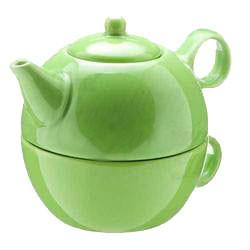 Tea Blendz - Tea for One - Tea Pot & Cup Combo - Mojito Lime