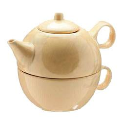 Tea Blendz - Tea for One - Tea Pot & Cup Combo - Sahara