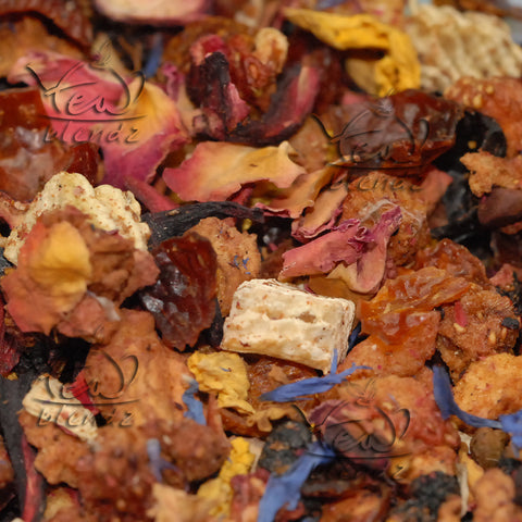 Tea Blendz, Fruit Medley, fruit flavoured tisane tea blend