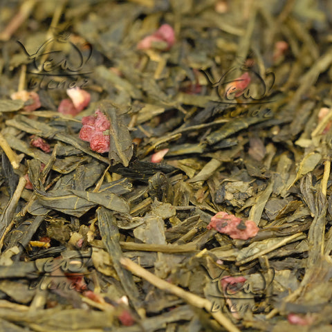 Buy Raspberry Sencha Online Green Tea | Tea Blendz