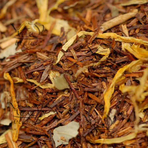 Tea Blendz, Georgia's Peach, flavoured Rooibos tea blend