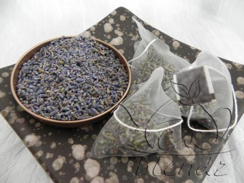 Tea Blendz, Lavender Medows, Herbal pyramid bag, tea blend