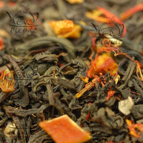 Tea Blendz, Orange Supreme, flavored black tea blend