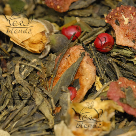 Tea Blendz flavoured Sencha green tea