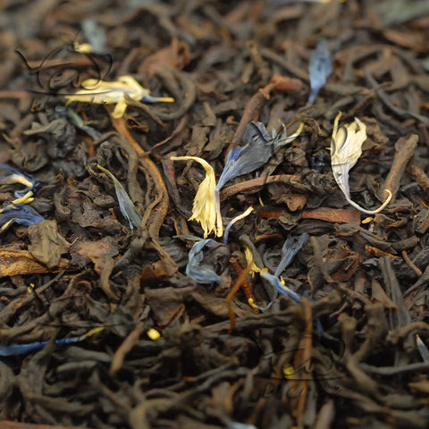 Tea Blendz, Decaf Earl Grey, flavoured black Ceylon tea blend