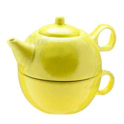 Tea Blendz - Tea for One - Tea Pot & Cup Combo - Lemon