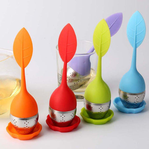Tea Blendz Leaf Silicone Tea Infuser -  all colors