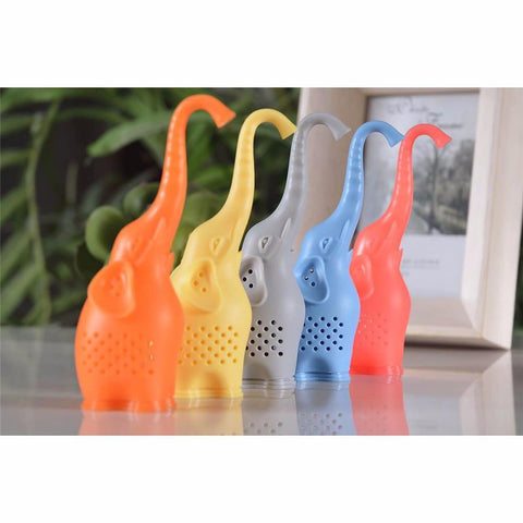 Tea Blendz Elephant Silicone Tea Infuser - All colors