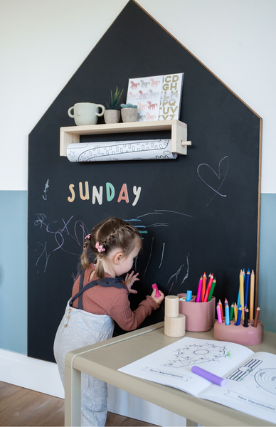 Sunday's Magnetic Chalkboard