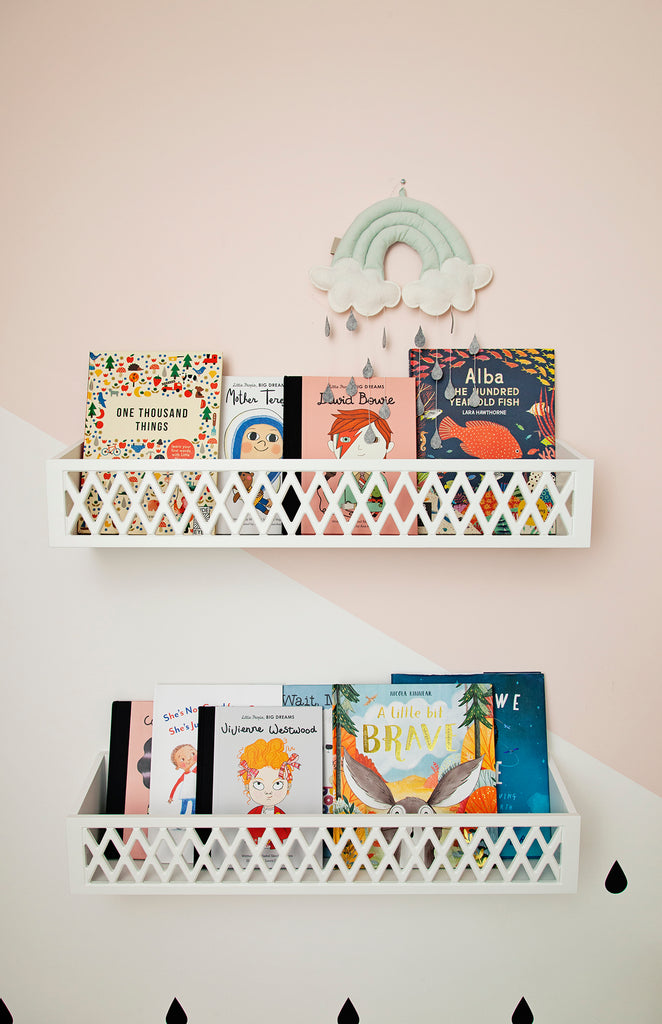 Cam Cam Harlequin Shelves White