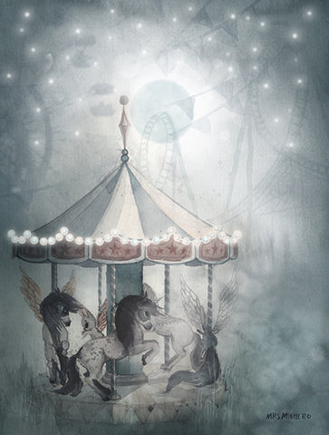 THE NIGHT CAROUSEL MRS MIGHETTO