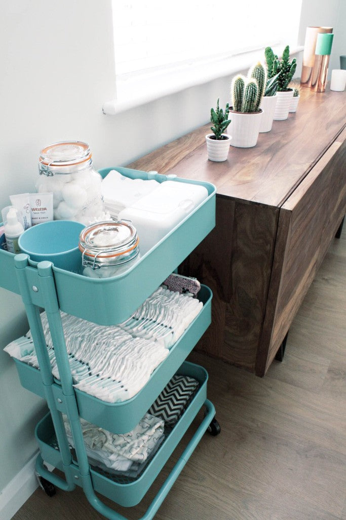 portable changing trolley
