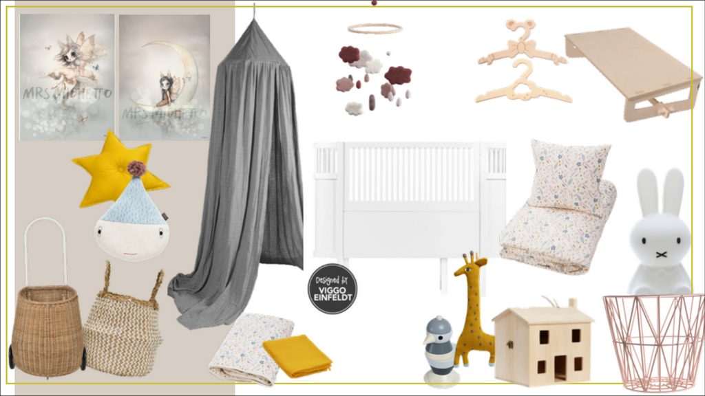 mood board Marlowe's nursery