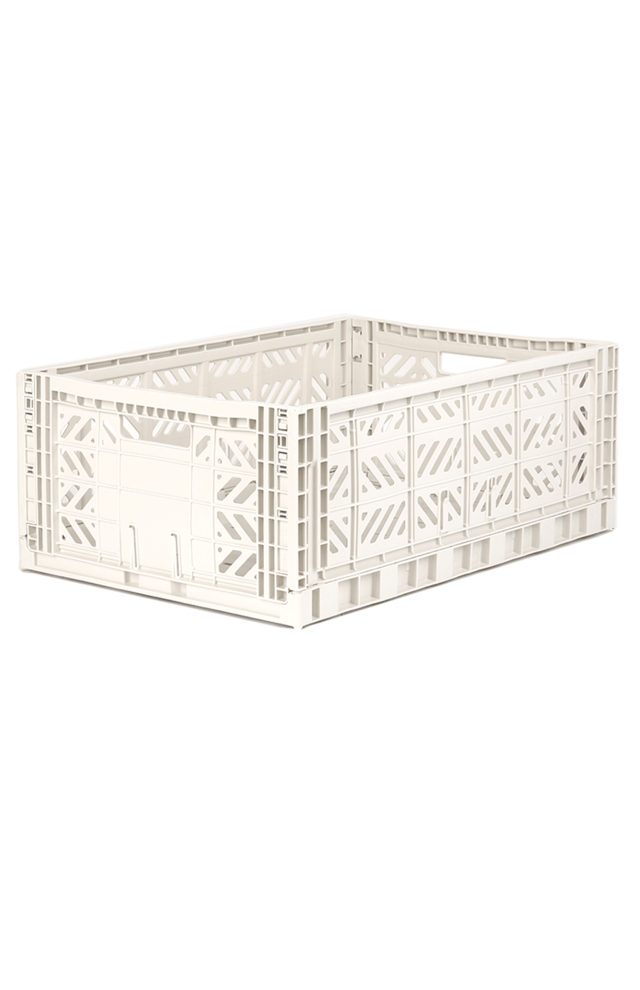 AyKasa Maxi Folding Crate - Coconut Milk