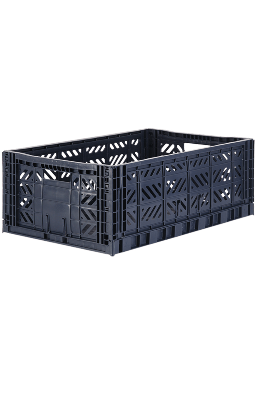 AyKasa Maxi Folding Crate - Navy