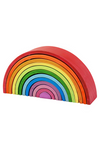 BigJigs Wooden Stacking Rainbow - Large