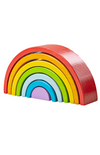 BigJigs Wooden Stacking Rainbow - Small