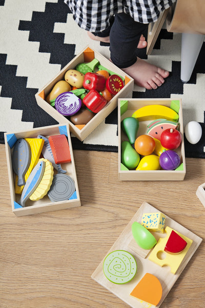 BigJigs Wooden Play Food - Fruit Crate