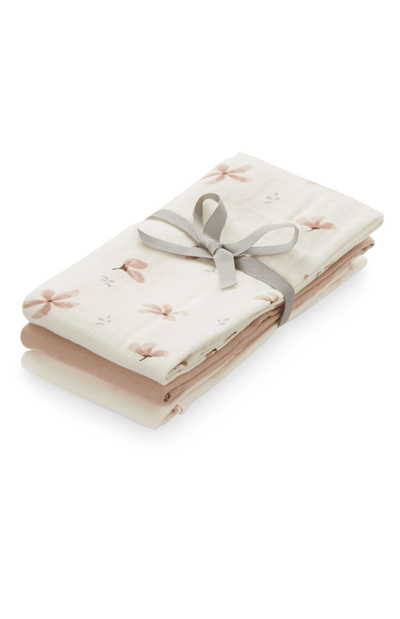 Cam Cam Copenhagen 3 Pack of Muslins - Windflower Cream