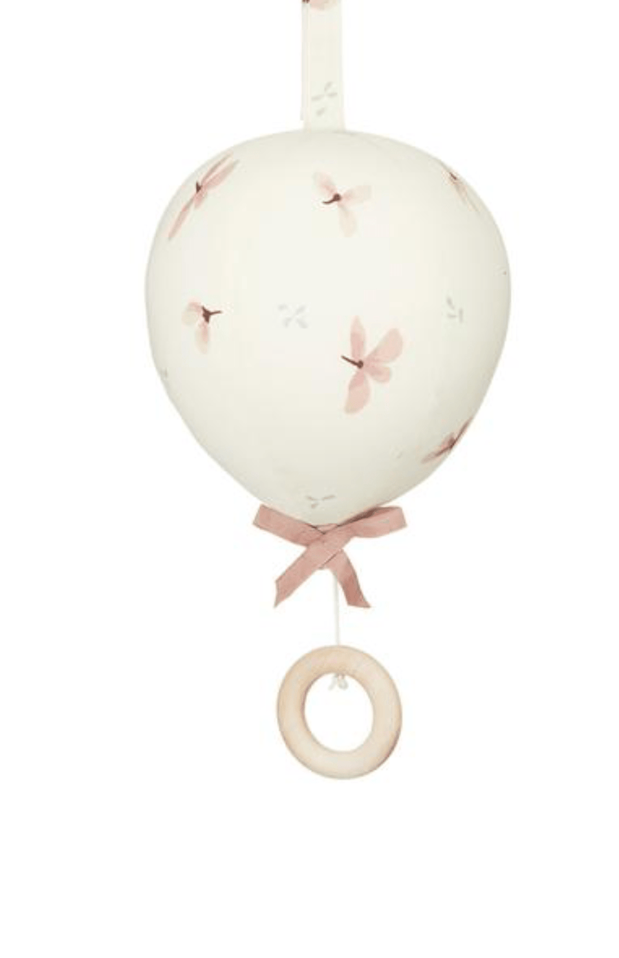 Cam Cam Copenhagen Balloon Musical Mobile - Windflower Cream