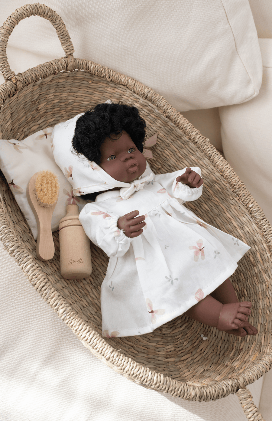 Cam Cam Copenhagen Dolls Clothing - Windflower Cream