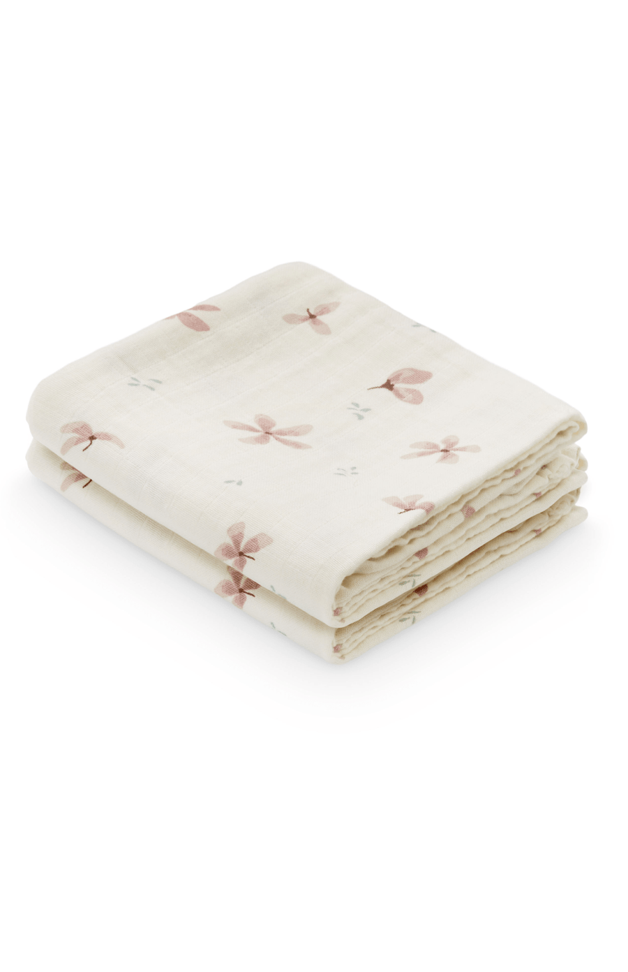 Cam Cam Copenhagen 2 Pack of Muslins - Windflower Cream