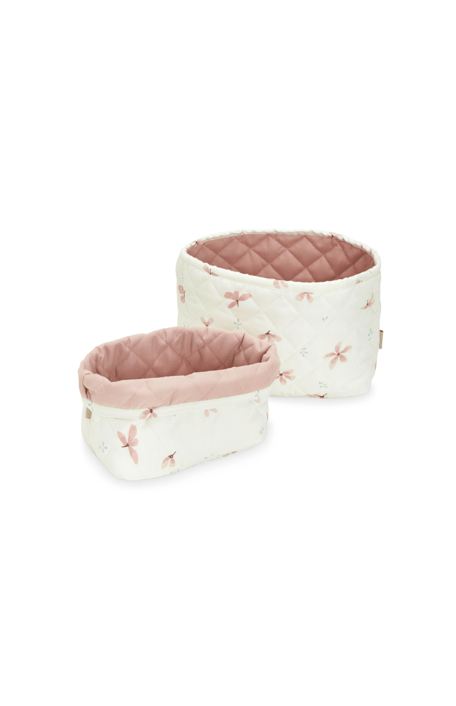 Cam Cam Copenhagen Quilted Storage Basket Set of 2 - Windflower Cream