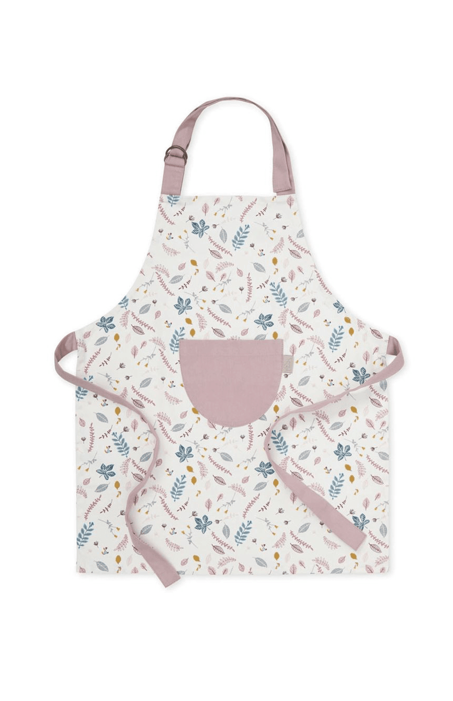 CAM CAM Kids Apron - Pressed Leaves Rose