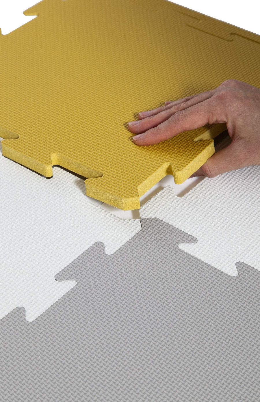 The Modern Nursery Puzzle Playmat - Mustard