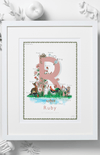Jo Laing Alphabet Nursery Art Print 'R is For'