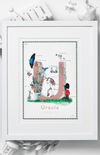Jo Laing Alphabet Nursery Art Print 'U is For'