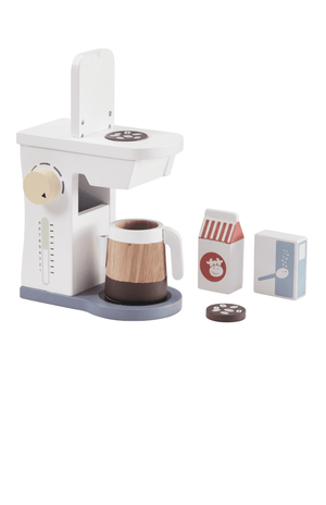 Kids Concept Coffee Machine Set White