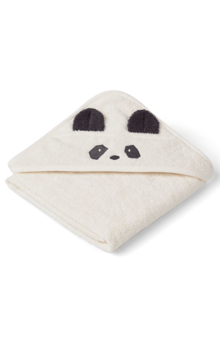 Liewood Albert Hooded Baby Towel - Panda