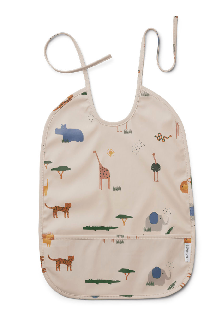 Liewood Lai Bib - Safari Sandy Mix