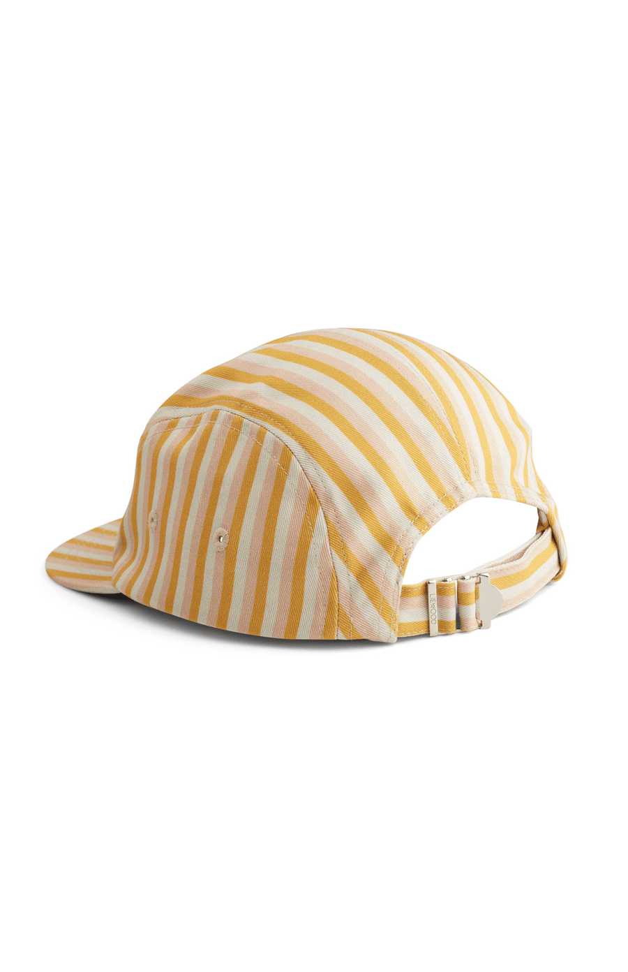 Liewood Rory Cap -  Stripe Peach/Sandy/Yellow Mellow