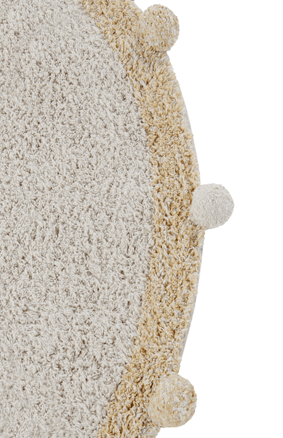 Lorena Canals Washable rug Bubbly - Honey