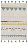 Lorena Canals Aztec Washable Rug - Vintage Blue